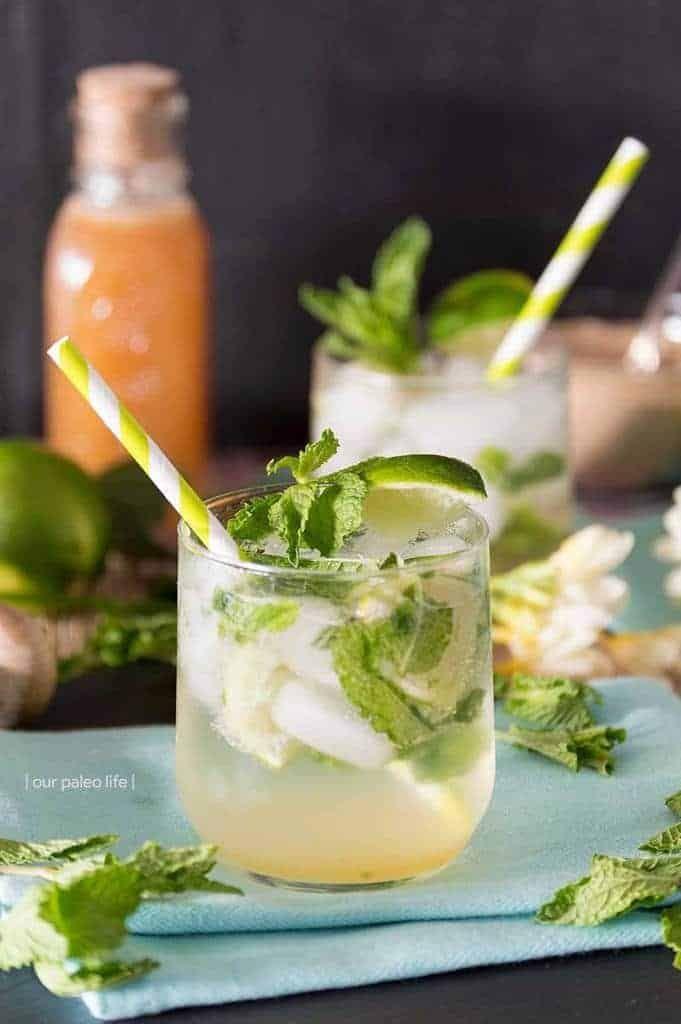 Virgin Maple Mojito Paleo Approved Mojito Recipe Recipe Paleo Drinks Paleo Cocktails Fruity Drink Recipes