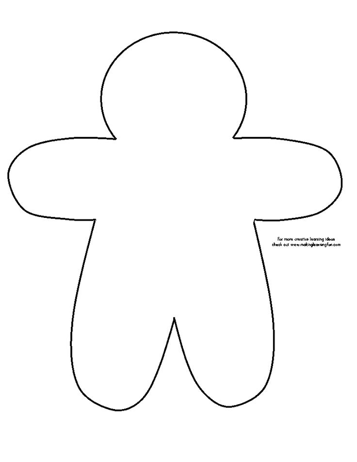 Best Gingerbread Man Images On   Christmas Crafts
