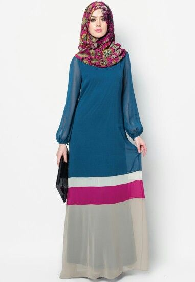 We @hijabmuseum #hijabmuseum love this look! http://bit.ly/hijabmuseum Hijabحجاب ❤ ❤•♥.•:*´¨`*:•♥•❤