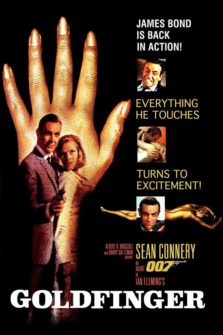 1964 007 Contra Goldfinger. Inesquecível desde a música tema…