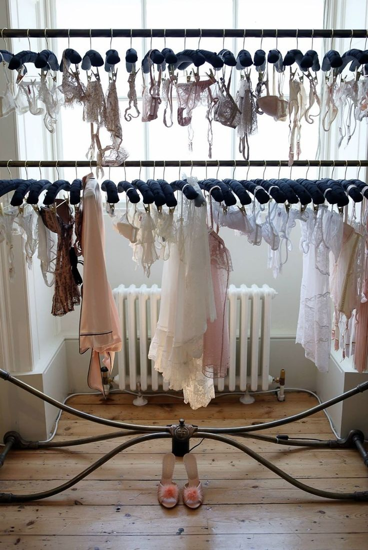 Three dreamy lingerie storage tips