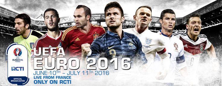 Jadwal Lengkap Piala Eropa 2016 + Siaran Langsung RCTI | Info Olahraga