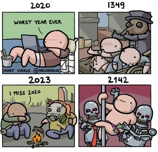 2020 Is The Worst Year Comic Witty Comics Comics Funny Relatable Memes