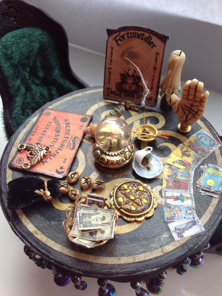 Brilliant mini fortune telling items by jane x