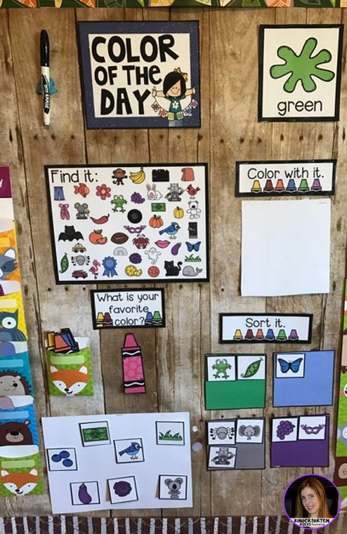 Color of the Day was designed to be a part of your daily morning meeting or carpet time for preschool and kindergarten leveled children. Color of the Day is a great introduction and/or review activity to learn about colors.