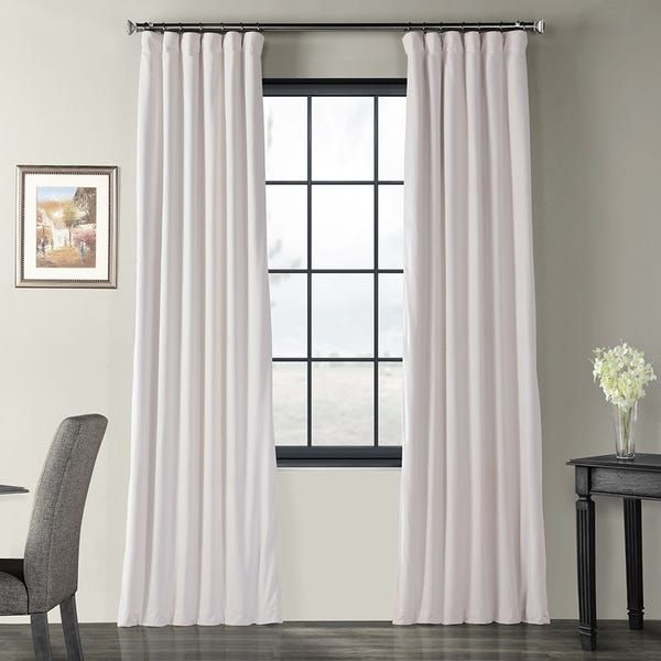Overstock Com Online Shopping Bedding Furniture Electronics Jewelry Clothing More In 2020 Half Price Drapes Panel Curtains Velvet Curtains