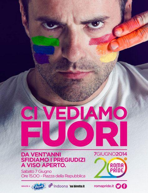 Roma Pride 2014: Ci vediamo fuori