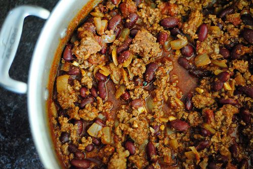 Red Bean Chili & Corn Bread | Foods to make and bake | Pinterest