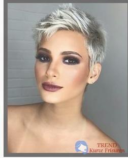 Frisurentrend 2018 Frauen Trend Kurze Frisuren Frisur In 2019