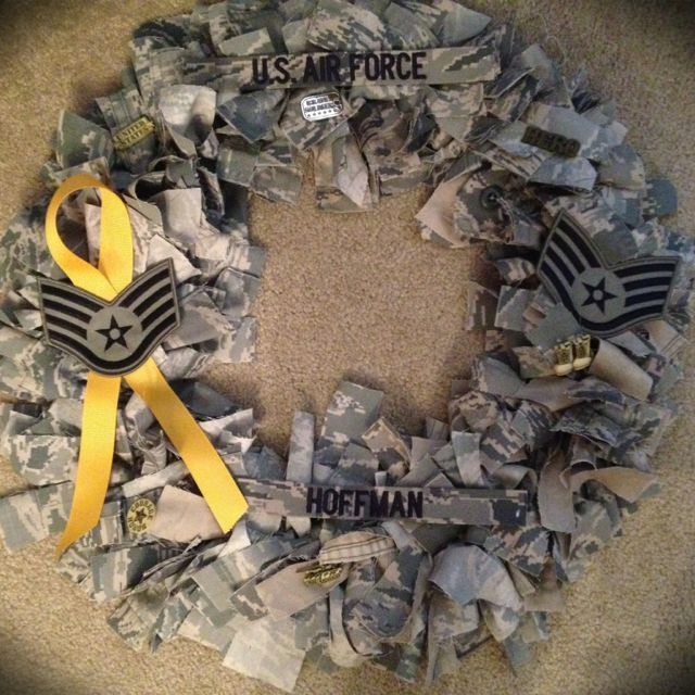 Air Force wreath