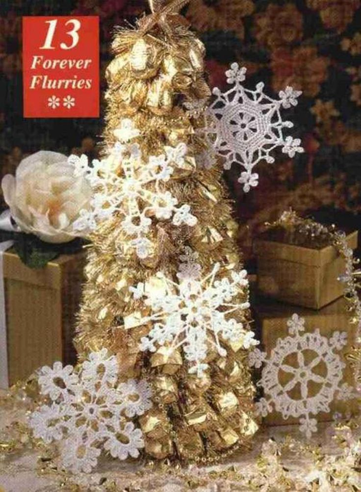 The snowflake is one of nature's best decorating ideas. And crochet Christmas ornaments are so much fun to make around the holidays. So why not c