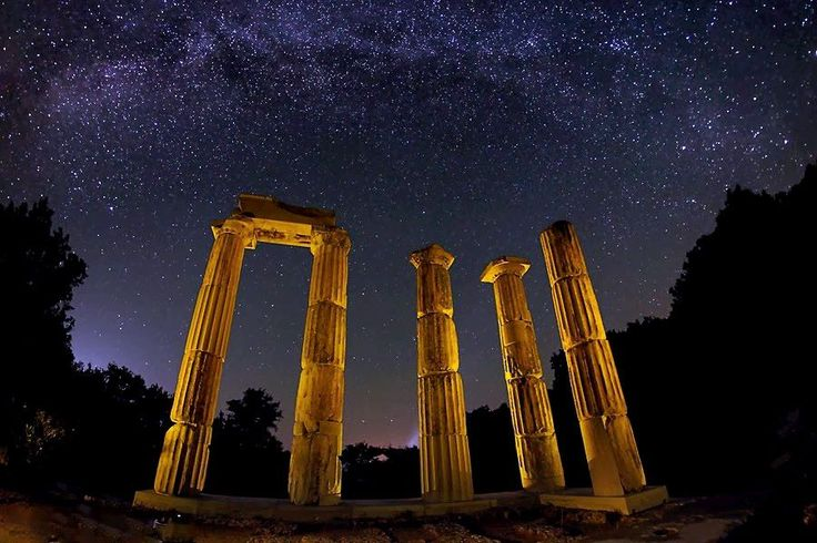 Temple of the Great Gods - Samothraki Island. Symbol of the Kavirian Mysteries, unique and remembered for the multicultural rituals.