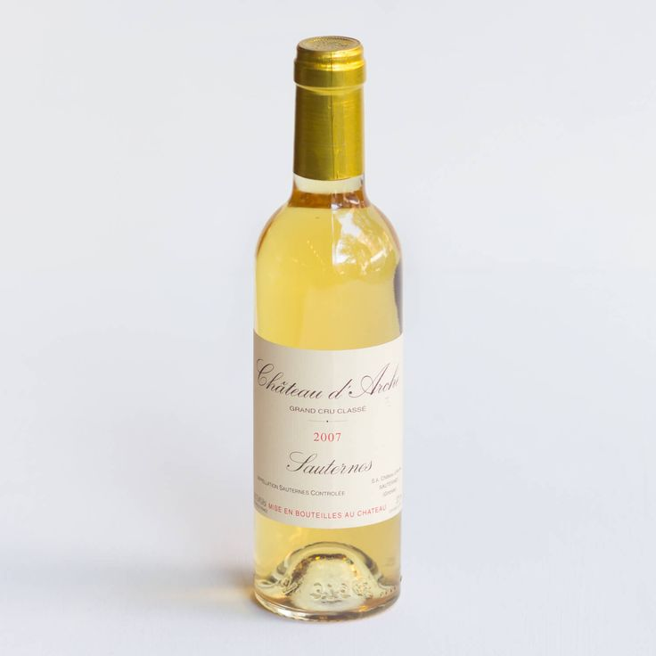 CHATEAU D'ARCHE SAUTERNES 2007 – A lighter Sauternes that recalls gala apple, peach cobbler, and honeyed pear, with wonderful nutmegy, cinnamony spice.