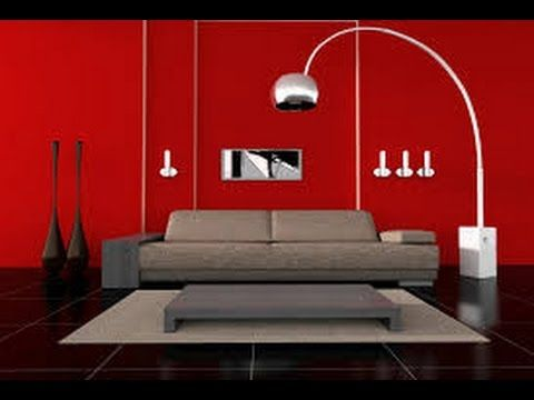 Red Wall Painting Ideas for Living Rooms