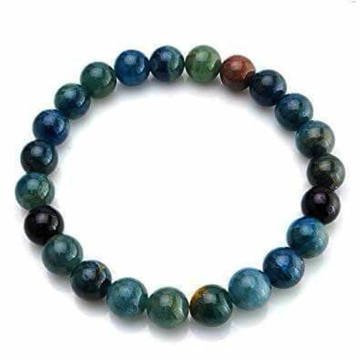 Apatite Power Bracelet for Inspiration and Creativity-8mm   New Earth Gifts