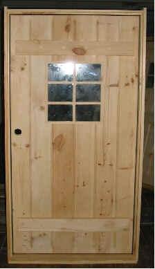 Front Entry Way. Pine DoorsWood DoorsCabin ...