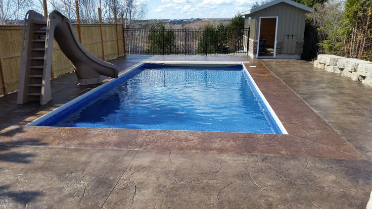 17 best images about inground swimming pools on pinterest for Swimming pools obi