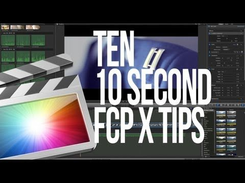 10 Quick Final Cut Pro X Tips - The Beat: A Blog by PremiumBeat