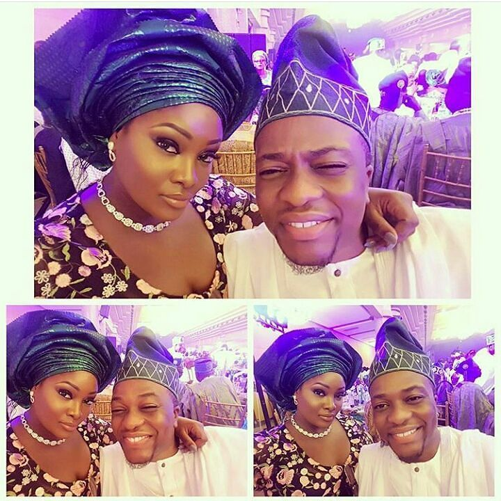 #CaptDemuren shares pictures with his wife #Toolz. Such cute. #Steevane #SV
