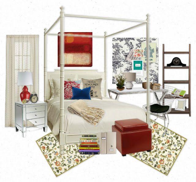Spencer Hastings room design board inspiration