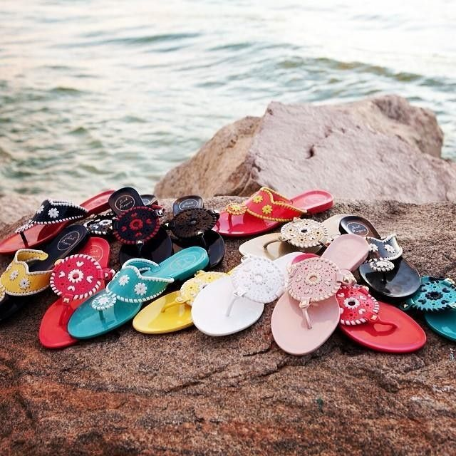 Gotta have a pair of Jelly Sandals for Spring Break! #lovemyjacks