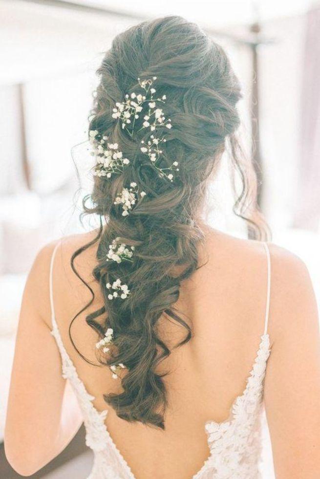 Brautmode Atemberaubende Hochzeitsfrisuren 2019 Bridal Hair