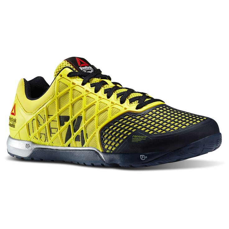 NEW REEBOK CROSSFIT NANO 4.0 Yellow Navy MENS $120 NIB