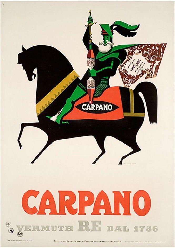 Armando Testa, vermouth Carpano