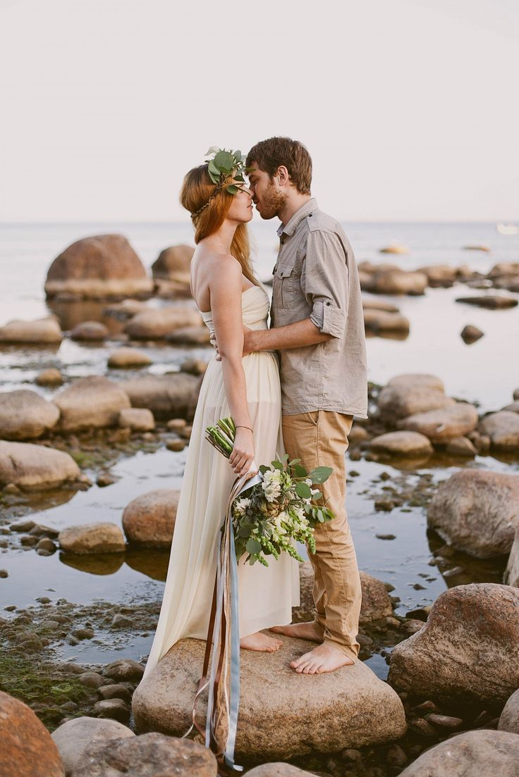 love-story on the shore