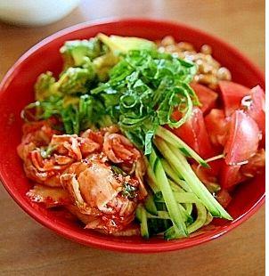 納豆サラダのレシピ集♡発酵食品は栄養満点!|MERY [メリー]