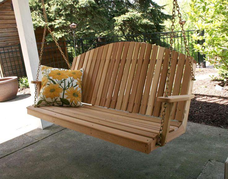 Modern Porch Swings Design ~ http://www.lookmyhomes.com/modern-porch-swings-ideas/