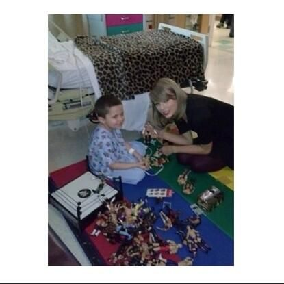 Taylor Swift Updates (TSwiftOnTour) on Twitter  Taylor visiting patients in RI