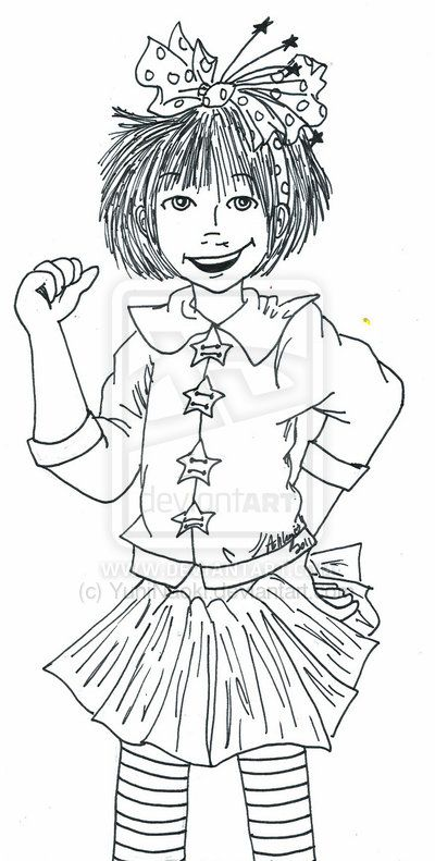 11 best junie b birthday party ideas images on pinterest for Junie b coloring pages
