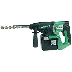 Hitachi DH 36 DAL Marteau perforateur/burineur sans fil SDS-Plus avec batterie Li-Ion 36 V 6 Ah (Import Allemagne)