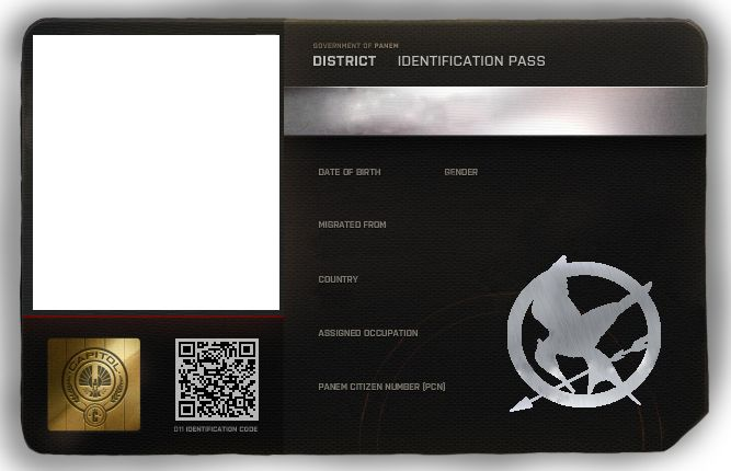 Pin by Sebastian Michaelis on Cosplay ID Card Templates - blank id card template