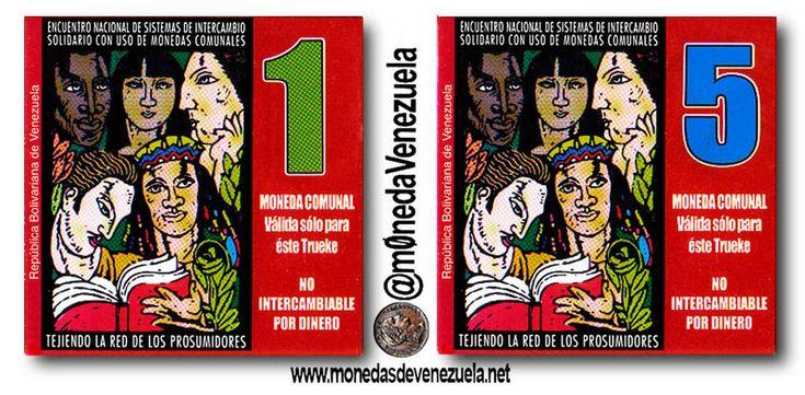 Moneda Comunal 'El Libertador' Encuentro Nacional (Noviembre 2008) Boconó, Edo. Trujillo