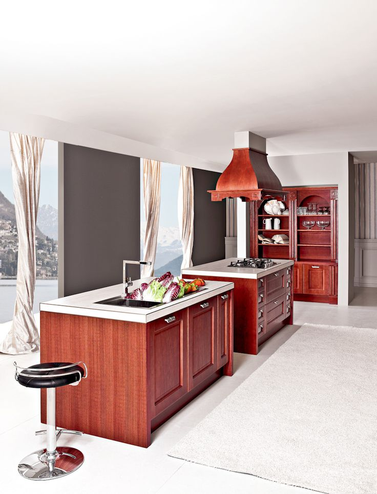 #Traditional #italian #kitchen from Aran Cucine. #MadeinItaly #italiandesign