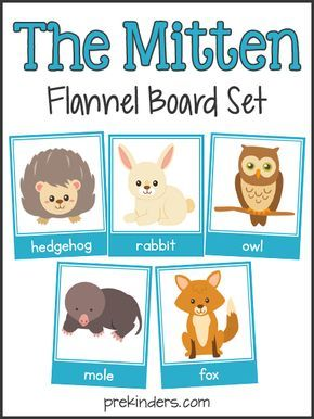 After reading the book, The Mitten, by Jan Brett, use these animal cards to teach your pre-k kids vocabulary, recall, and story sequencing. Printable set...