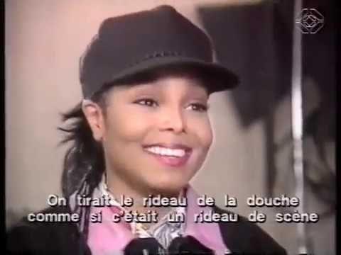 Janet Jackson interview Tour 1990