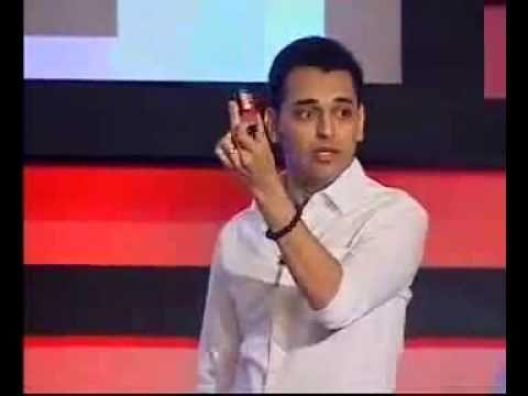 SixthSense prototype Pranav Mistry's - YouTube