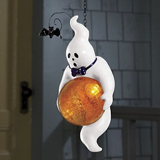 Solar Gazing Ball Ghost from Through the Country Door® & 48 best Spooktacular Decor by Country Door images on Pinterest ... Pezcame.Com