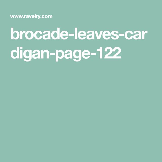brocade-leaves-cardigan-page-122