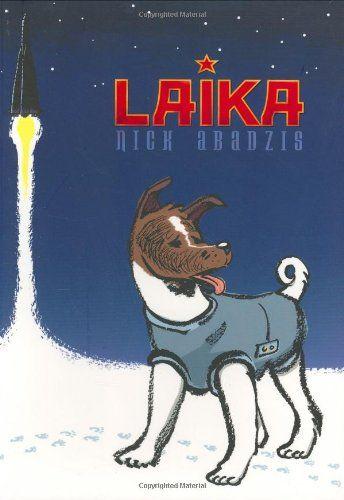 Laika by Nick Abadzis http://www.amazon.com/dp/1596431016/ref=cm_sw_r_pi_dp_1S.Ewb17EAJXQ