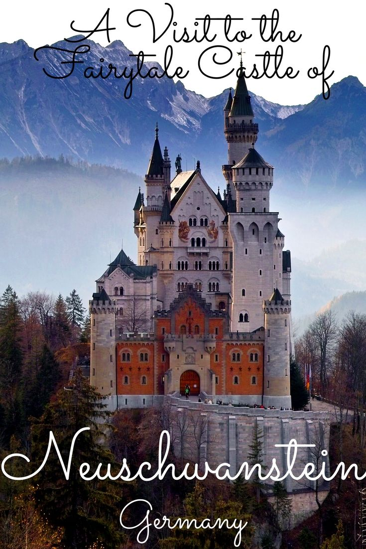 Neuschwanstein Castle of Germany is a revered fairytale castle and has been an inspiration for the Disney castles.