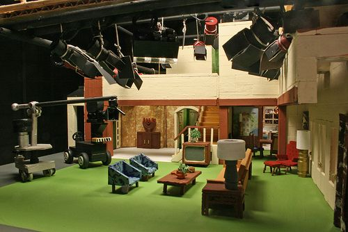 Bewitched Studio Set In Miniature.