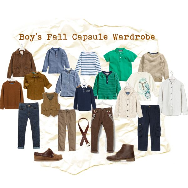 Boy's Fall Capsule Wardrobe by thoughtsandthimbles on Polyvore featuring H&M and Zara