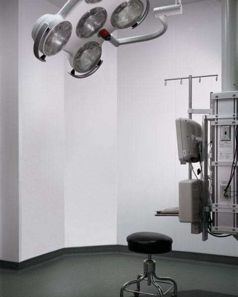 Operating Room Design: Another Look At A Corian® Operating Room At Edwards