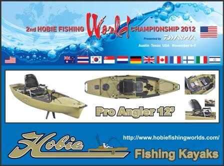 Hobie Fishing World Championship - November 4 - 9 2012 - Austin, Texas