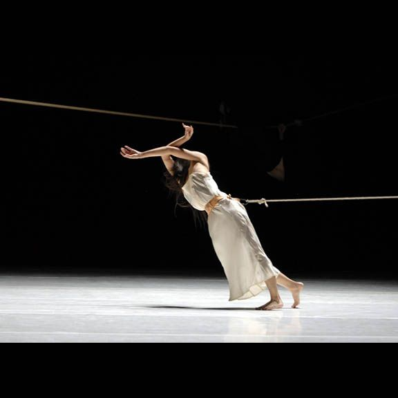 Pina Bausch Although we may not have ropes, could incorporate this PULL in the movement.