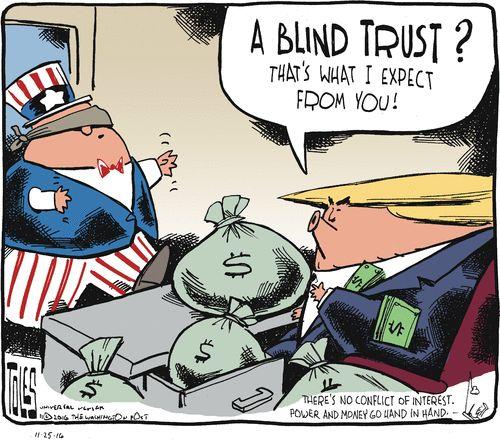 Tom Toles Editorial Cartoon, November 25, 2016     on GoComics.com